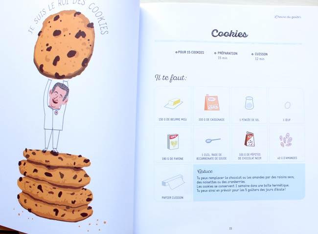 livre de pâtisserie pour enfant
