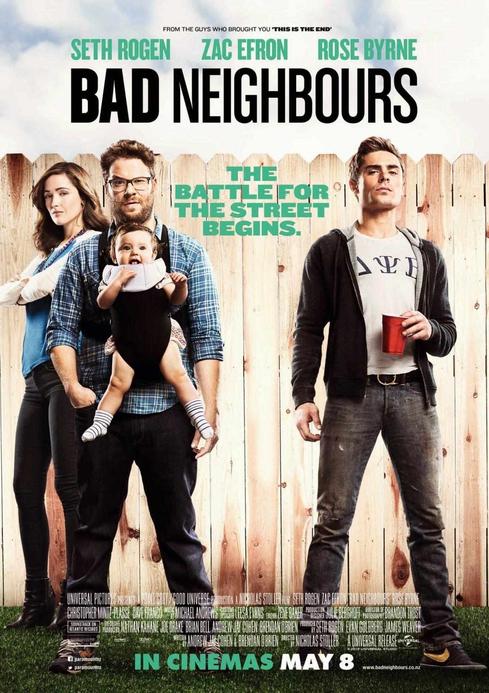 Bad Neighbours เพื่อนบ้านมหา(บรร)ลัย [HD][พากย์ไทย]