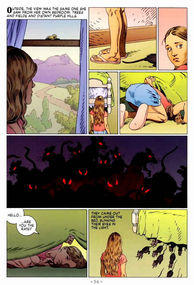 Read page 34, from Nail Gaiman and P. Craig Russell's Coraline graphic novel