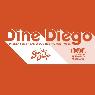 Don't Miss Dine Diego, a month of showcasing top eateries around San Diego from Sept 15 - Oct 15!!
