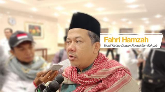 Doa Fahri Hamzah untuk Korban Gempa dan Tsunami di Sulawesi Tengah