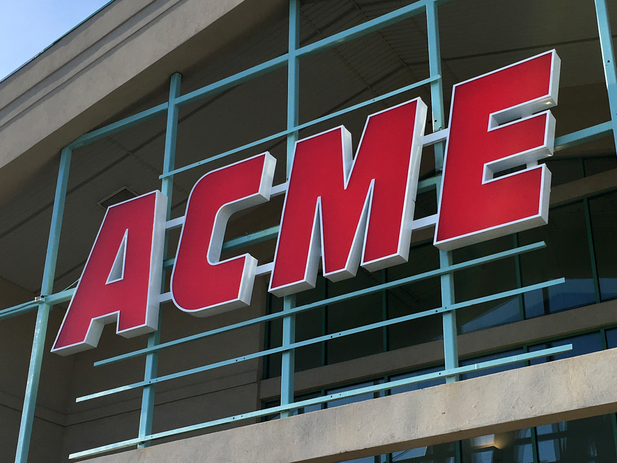 Acme style acme tinton falls new jersey even the roadside sign looks good well almost the huge letters are hard to miss which is good since the store cant be accessed directly from route 35 malvernweather Choice Image