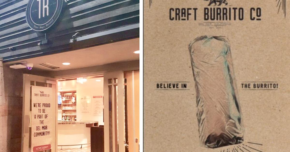 Sandiegoville craft burrito company moves into former for Craft company no 6