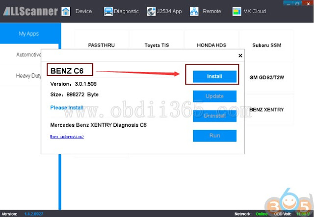update-vxdiag-benz-c6-driver