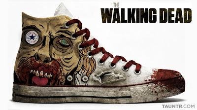 Converse All Star di TWD: Walk like a dead