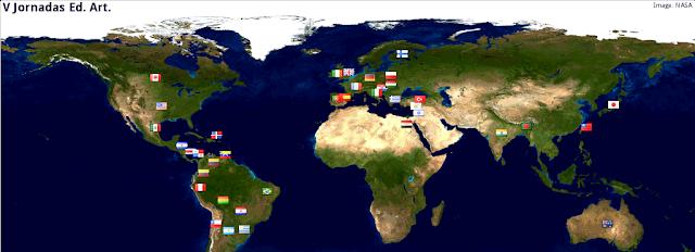 V Jornadas Internacionales Educación Artística en clave 2.0  1-21 dic 2013: UAM, España