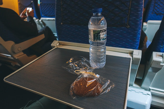高速列車「アルファ(Alfa)」の車窓