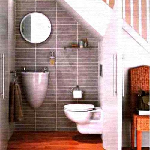 Lighting Basement Washroom Stairs: Interior Design Inspirations For