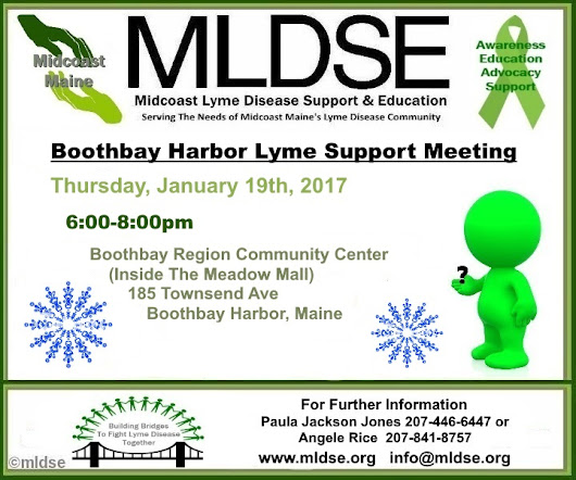 Boothbay Support Group Meeting Reminder