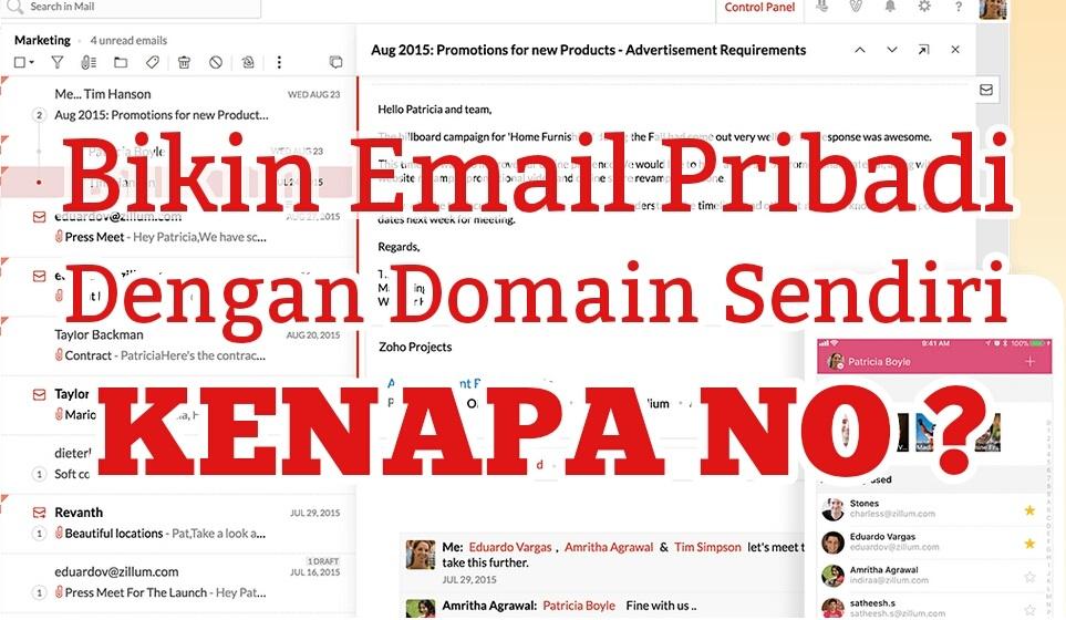 Temukan Cara Buat Email Domain Sendiri paling mudah