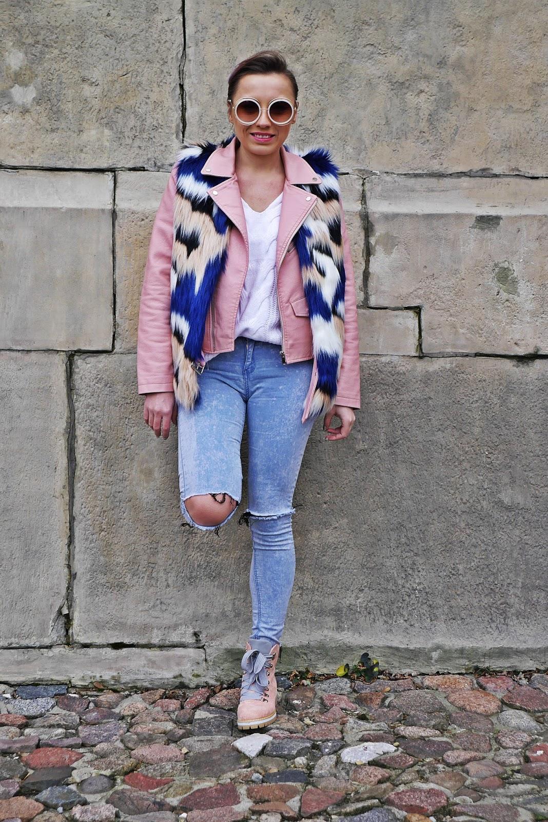 1_fur_vaist_pink_biker_jacket_jeans_buty_renee_karyn_blog_modowy_281217df