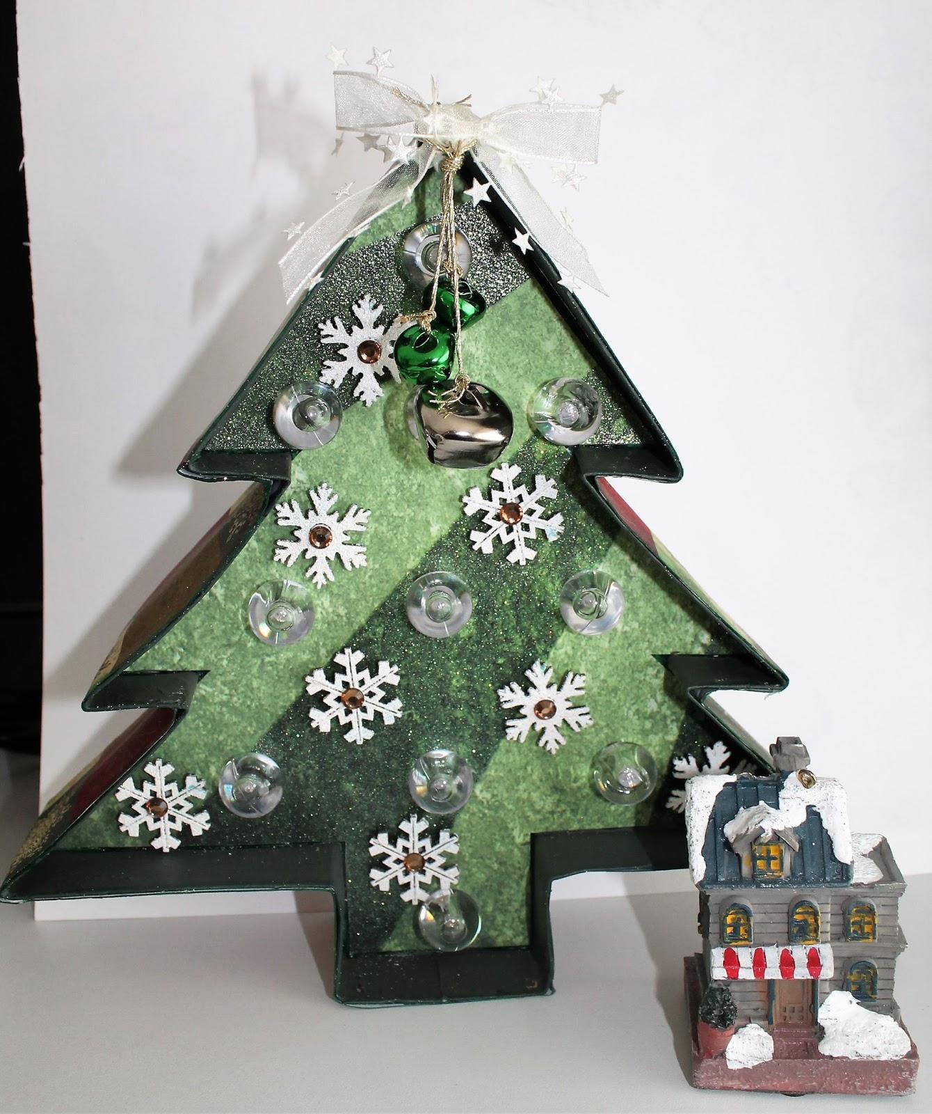 Craft Sensations Marquee Figuur Kerstboom Met Lichtjes