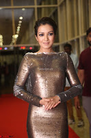 Actress Catherine Tresa in Golden Skin Tight Backless Gown at Gautam Nanda music launchi ~ Exclusive Celebrities Galleries 090.JPG