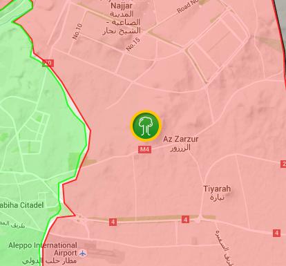 peta kejadian ledakan besar di syeikh yussuf aleppo