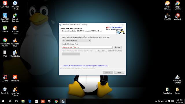 kali linux live usb persistence bootable kali linux dengan rufus