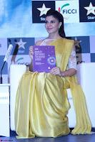 Gorgeous Jacqueline Fernandez  in yellow saree 11.JPG
