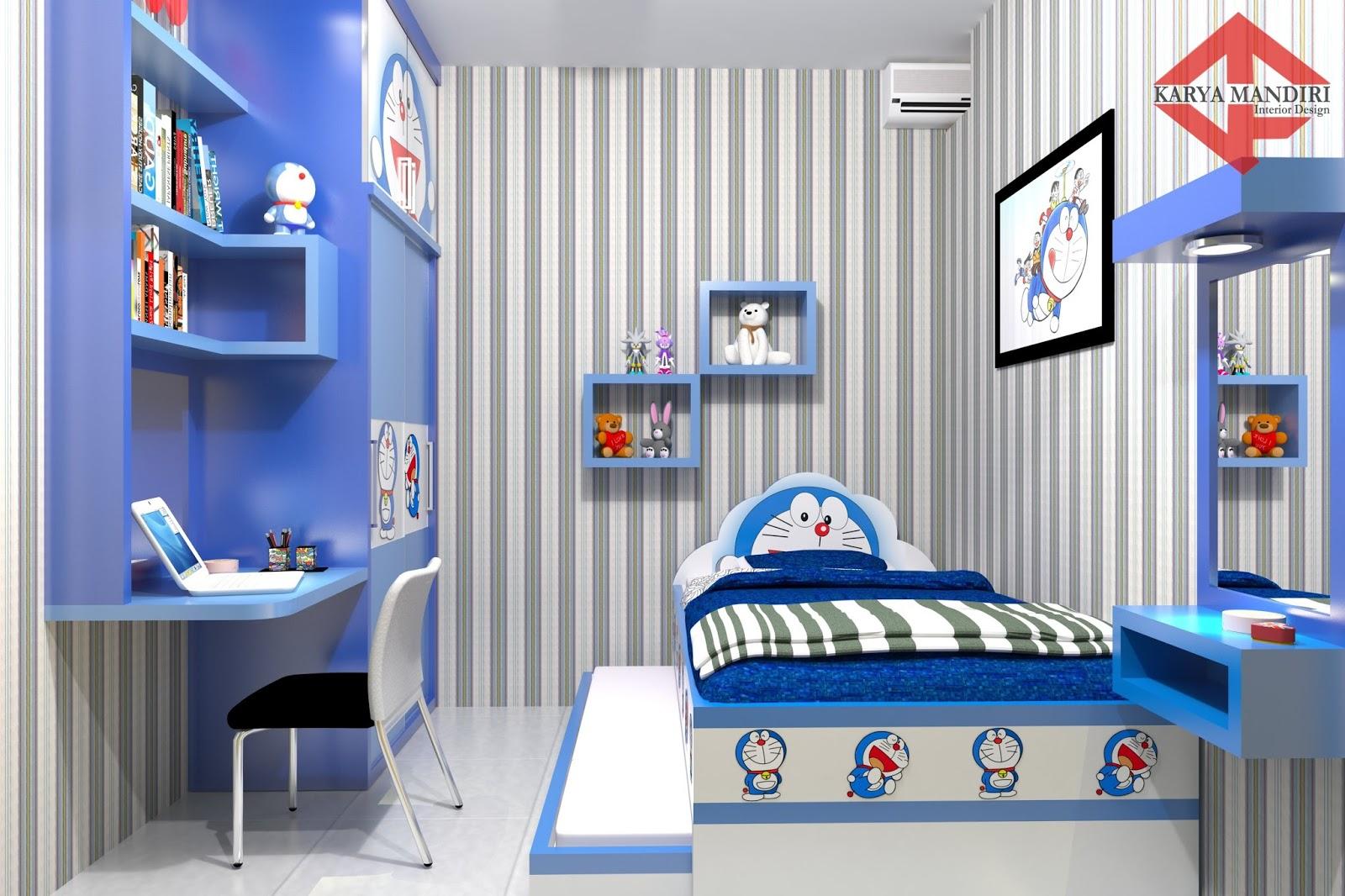 Gaya Terbaru 39 Menghias Kamar Tema Doraemon Paling Unik