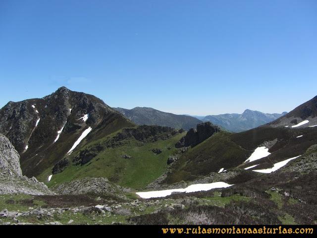 Transcantábrica Tarna - Pontón: Camino al Cerro del Porro