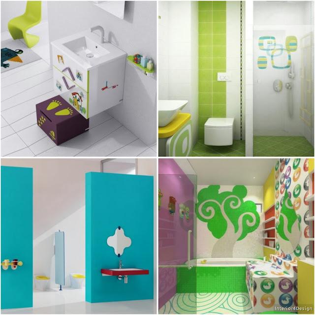 Children's Bath Decorations In More Fun Colors And  Designs