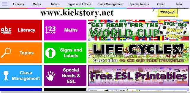 Download Bahan Pengajaran Di SparkleBox Percuma