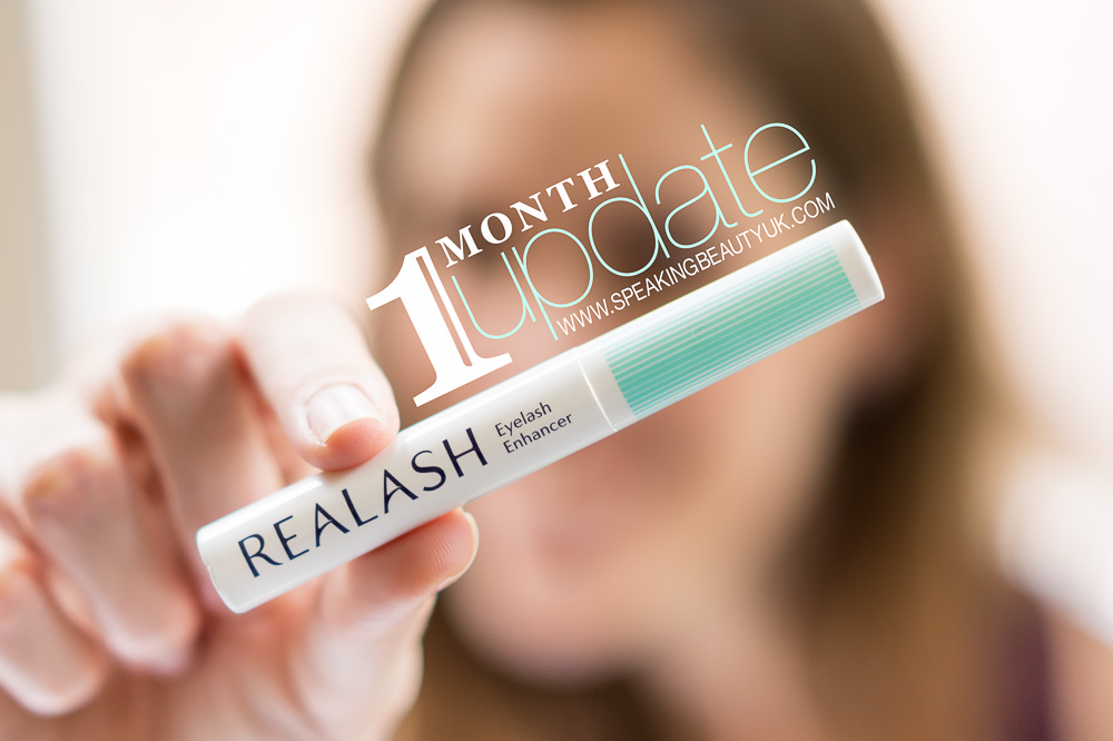 Realash Eyelash Enhancer - 1 Month Update