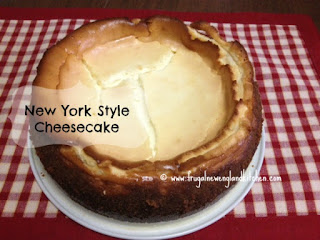 Easy New York Style Cheesecake Recipe