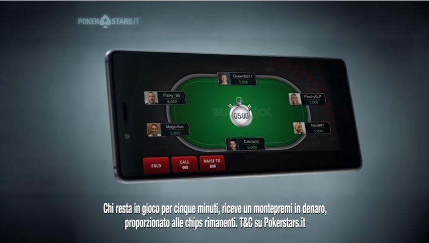 Cristiano Ronaldo pubblicita' Pokerstars Beat The Clock con Foto - Testimonial Spot Pokerstars 2016
