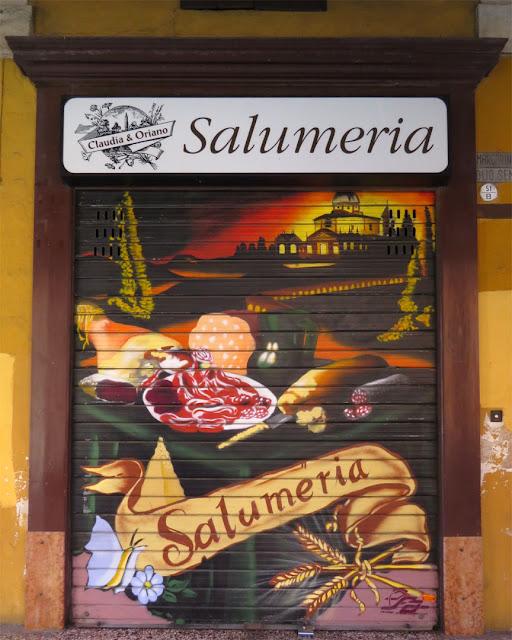 Claudia e Oriano salumeria, delicatessen, Via Massimo D'Azeglio, Bologna
