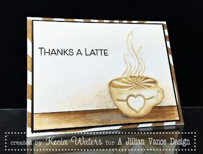 AJVD, Kecia Waters, coffee, latte, sponging