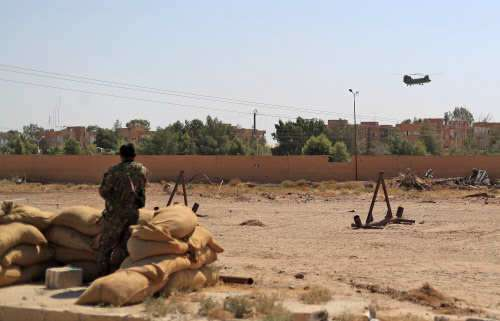 ISIS fighters kill 20 US-backed gunmen in east Syria