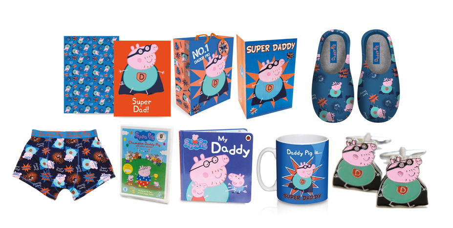 a6c13911457 Madhouse Family Reviews  Daddy Pig Gifts for Father s Day at ASDA !