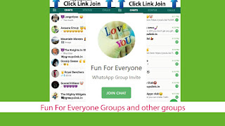Fun For Everyone Groups and other groups links
