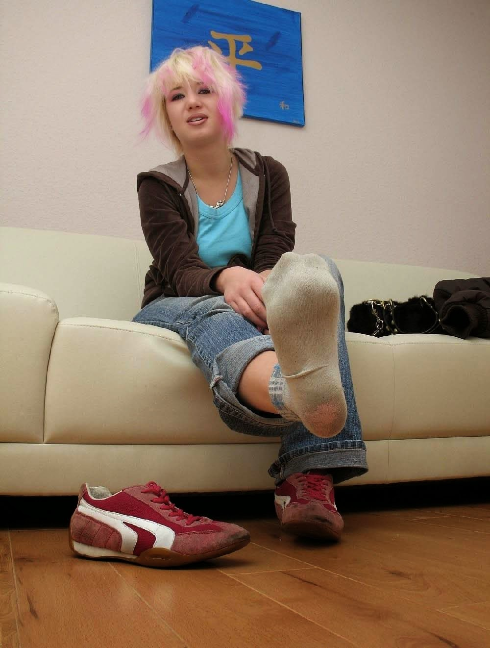 Her Dirty Teen Socks Sock 112