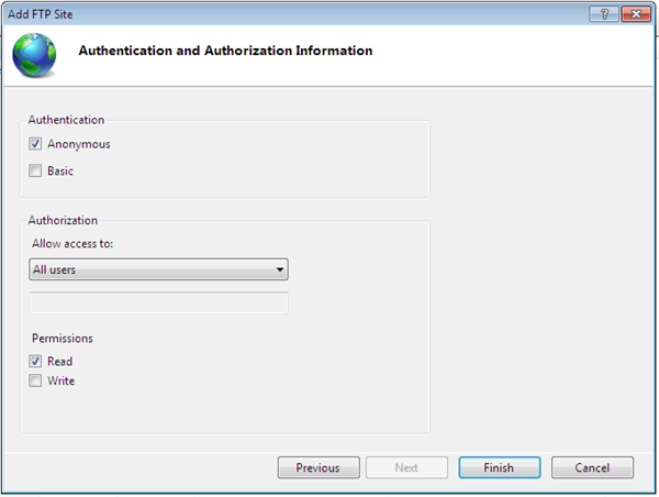 How to add FTP or configure FTP site in window Server 2008