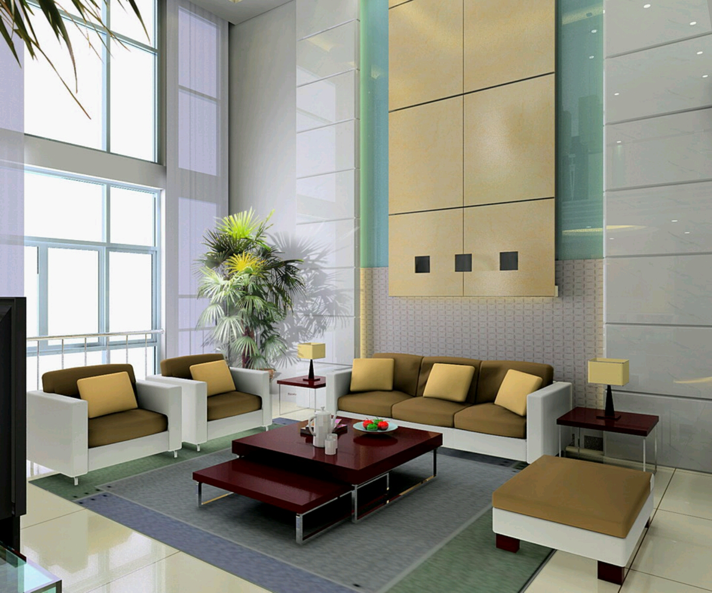New Home Designs Latest.: Luxury Living Rooms Interior