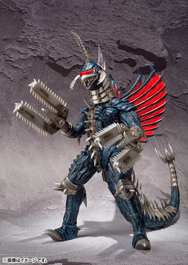 MonsterArts Final Wars Gigan Revealed - Scified.com