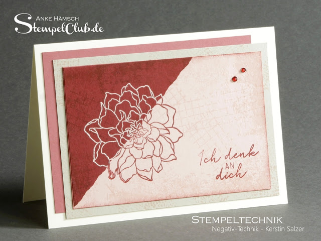 Negativtechnik, Stempeltechnik-Buch