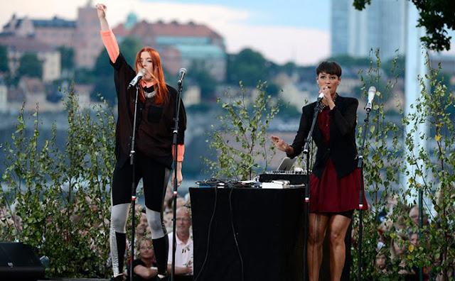 Icona Pop en Skansen