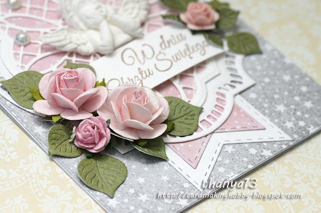 różyczki w kolorze różowym