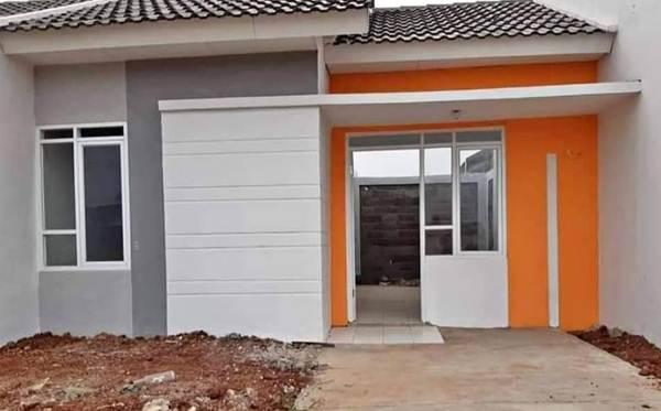 Rumah Type 30 Desain Minimalis Terlihat Dari Depan