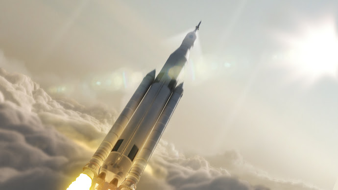 Wallpaper: NASA Space Launch System