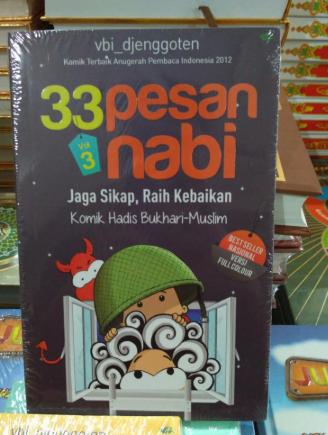 """Buku Komik Islam Anak """"33 Pesan Nabi Vol 3"""" (Ki 001)"""