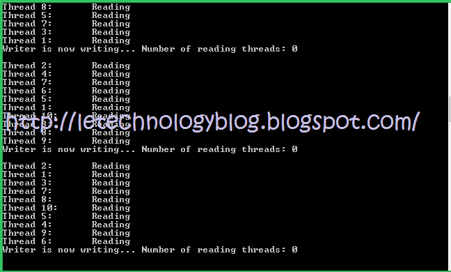 Reader-Writer With Limited Buffer Problem Using Semaphores