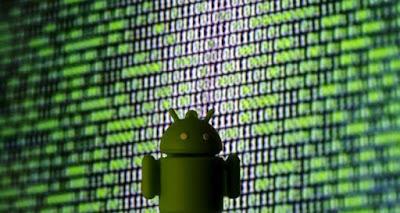 Virus alert bank for smartphones