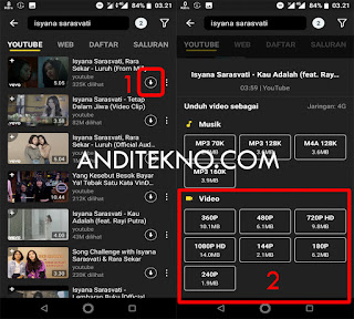 Cara Download Video di Youtube lewat HP Android