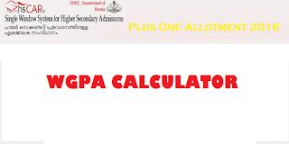 WGPA Calculator