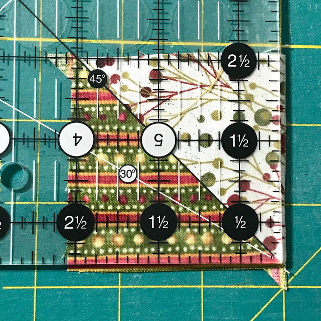 Sewing Tip for A Scrappy Happy Holidays Mystery Sew Along by Thistle Thicket Studio. www.thistlethicketstudio.com
