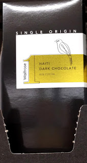 Waitrose Haiti  dark chocolate