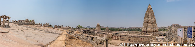 Hampi Virupaksha Temple and Hemakuta Temples