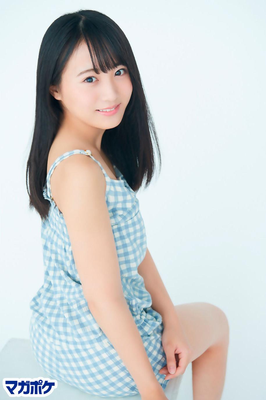 Sakaguchi Nagisa 坂口渚沙, AKB48 Team8 x Weekly Maga Cover Competition